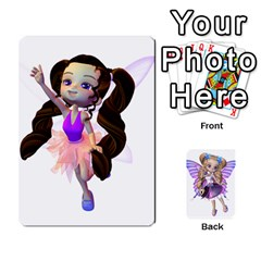Ace Fairy Cards By Helen   Playing Cards 54 Designs   Naaz720wbr4y   Www Artscow Com Front - ClubA