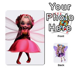 Fairy Cards By Helen   Playing Cards 54 Designs   Naaz720wbr4y   Www Artscow Com Front - Spade9
