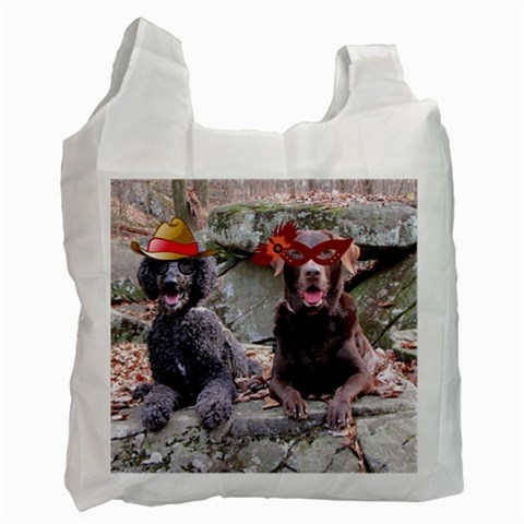 Dogs Glasses 1 Side By Candy   Recycle Bag (one Side)   Touv0rllv1wj   Www Artscow Com Front