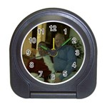 Da Bears Christmas Clock - Travel Alarm Clock