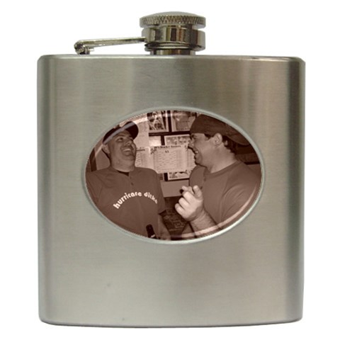 Da Bears Flask By Jimmy Reilly   Hip Flask (6 Oz)   Qsp1z2qpq2qc   Www Artscow Com Front