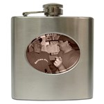 Da Bears Flask - Hip Flask (6 oz)