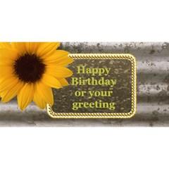 Long Term Friends Birthday Etc 3d Card By Deborah   Best Friends 3d Greeting Card (8x4)   Did05jm5ej2r   Www Artscow Com Front