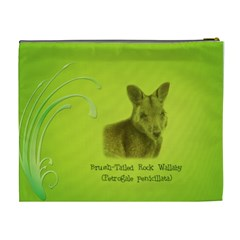 Wallaby Cos Bag By Renee   Cosmetic Bag (xl)   6444m1magjh6   Www Artscow Com Back