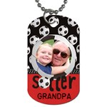 TAGS/GRANDPA - Dog Tag (Two Sides)