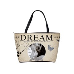 Dream Classic Shoulder Handbag By Lil    Classic Shoulder Handbag   B423hz44650f   Www Artscow Com Back