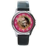 love - Round Metal Watch