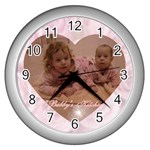 henchy - Wall Clock (Silver)