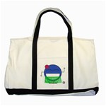 Hawaiian Beach Bag  - Two Tone Tote Bag