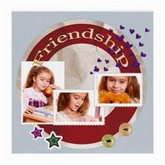 Friendship By Joely   Medium Glasses Cloth (2 Sides)   4iesj56k0mze   Www Artscow Com Back
