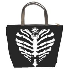 Boney Heart Dl : Bucket Purse By Von Zombie ™©®   Bucket Bag   L53utguto6fp   Www Artscow Com Back