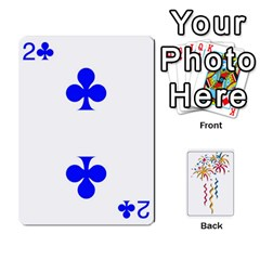 Hanabi W/ Regular Deck Symbols By Adam Kunsemiller   Playing Cards 54 Designs   O8ene6vy7nso   Www Artscow Com Front - Diamond9