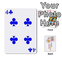 Ace Hanabi W/ Regular Deck Symbols By Adam Kunsemiller   Playing Cards 54 Designs   O8ene6vy7nso   Www Artscow Com Front - DiamondA