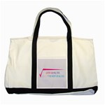 Square Root of all Evil Two Tone Tote Bag