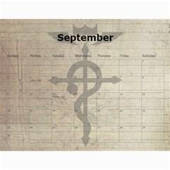 Fma Calendar By Krystal   Wall Calendar 11  X 8 5  (12 Months)   0ajhowbjvil7   Www Artscow Com Sep 2012