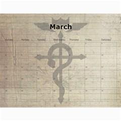 Fma Calendar By Krystal   Wall Calendar 11  X 8 5  (12 Months)   0ajhowbjvil7   Www Artscow Com Mar 2012