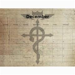 Fma Calendar By Krystal   Wall Calendar 11  X 8 5  (12 Months)   0ajhowbjvil7   Www Artscow Com Dec 2012