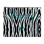 Camryn zebra bag - Cosmetic Bag (XL)