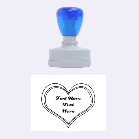 Heart Stamp By Kathi Bothwell   Rubber Stamp Oval   Ga5k4lt1xj95   Www Artscow Com 1.88 x1.37  Stamp