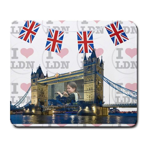 Tower Bridge By Rivke   Large Mousepad   Ho2p1x9em9ep   Www Artscow Com Front