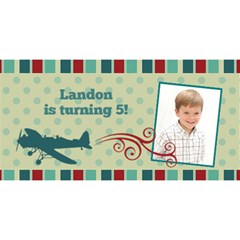 Airplane You Are Invited 3d Card By Klh   You Are Invited 3d Greeting Card (8x4)   3070f44nkrbq   Www Artscow Com Front