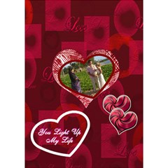You Light Up My Life 3d Card By Ellan   Heart 3d Greeting Card (7x5)   Lb1ecuyijbmh   Www Artscow Com Inside