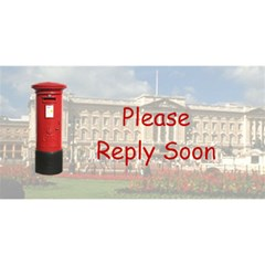 Visit Us In London By Rivke   You Are Invited 3d Greeting Card (8x4)   57v5y3ityey5   Www Artscow Com Back