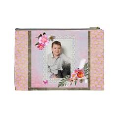 Portrait Large Cosmetic Bag By Catvinnat   Cosmetic Bag (large)   2d74kr482k5t   Www Artscow Com Back