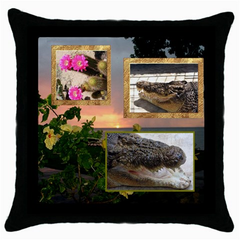 Mhelapillow2 By Bernadette Simon Villaverde   Throw Pillow Case (black)   6td1pk0fohei   Www Artscow Com Front