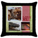 mhelanpillow3 - Throw Pillow Case (Black)