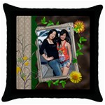 mhelanpillow5 - Throw Pillow Case (Black)