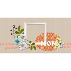 Mom 3d Card (8x4): Mom 4 By Jennyl   Mom 3d Greeting Card (8x4)   Tblqssjq2mxu   Www Artscow Com Front