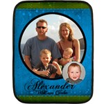 Alex - Double Sided Fleece Blanket (Mini)