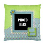 Patches 1 Sided Cushion - Standard Cushion Case (One Side)
