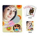 Summer Memories Cards - Playing Cards Single Design