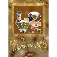 Remember   I Love Our Life 3d Card By Ellan   Love 3d Greeting Card (7x5)   Oi3q27vh0qz1   Www Artscow Com Inside