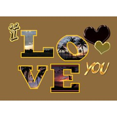 Remember   I Love Our Life 3d Card By Ellan   Love 3d Greeting Card (7x5)   Oi3q27vh0qz1   Www Artscow Com Back