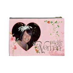 Pretty Woman Large Cosmetic Bag By Catvinnat   Cosmetic Bag (large)   C8hs5bdnxc64   Www Artscow Com Back