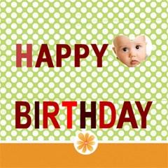 Happy Birthday By Joely   Happy Birthday 3d Greeting Card (8x4)   Wo2slk737cjm   Www Artscow Com Inside
