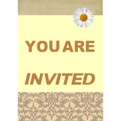 You Are Invited By Joely   You Are Invited 3d Greeting Card (7x5)   Dptalh0twm1m   Www Artscow Com Inside