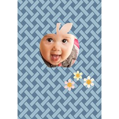 Apple Baby By Joely   Apple 3d Greeting Card (7x5)   9sun0bvs0hk3   Www Artscow Com Inside