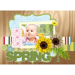 Baby By Joely   Clover 3d Greeting Card (7x5)   T79va3hgy5za   Www Artscow Com Front