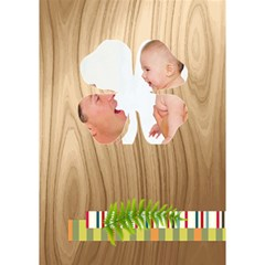 Baby By Joely   Clover 3d Greeting Card (7x5)   T79va3hgy5za   Www Artscow Com Inside