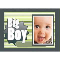 My Boy By Joely   Boy 3d Greeting Card (7x5)   Tmivudmzjee9   Www Artscow Com Front