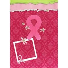 #1 Breast Cancer Awareness Ribbon 3d Card (8x4) By Mikki   Ribbon 3d Greeting Card (7x5)   A2chstcfl7qd   Www Artscow Com Inside