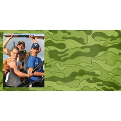 #1 Dad 3d Card (8x4), Camo Hunting By Mikki   #1 Dad 3d Greeting Card (8x4)   Hanweao6jfgr   Www Artscow Com Front