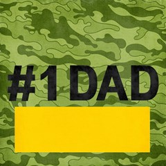 #1 Dad 3d Card (8x4), Camo Hunting By Mikki   #1 Dad 3d Greeting Card (8x4)   Hanweao6jfgr   Www Artscow Com Inside
