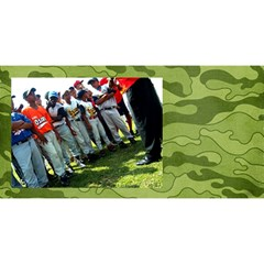 #1 Dad 3d Card (8x4), Camo Hunting By Mikki   #1 Dad 3d Greeting Card (8x4)   Hanweao6jfgr   Www Artscow Com Back