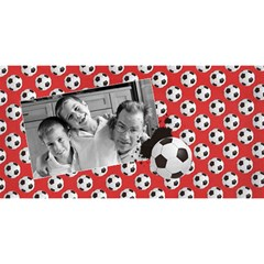 #1 Dad 3d Card (8x4) Soccer, Football By Mikki   #1 Dad 3d Greeting Card (8x4)   A2n53fe4p4nm   Www Artscow Com Back