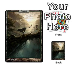 Forest   Misc By Frank Ranallo   Multi Purpose Cards (rectangle)   T4g1y5k0ue3t   Www Artscow Com Front 18